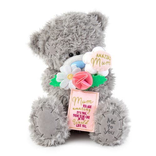 Me To You Large Bear - Amazing mum with flower