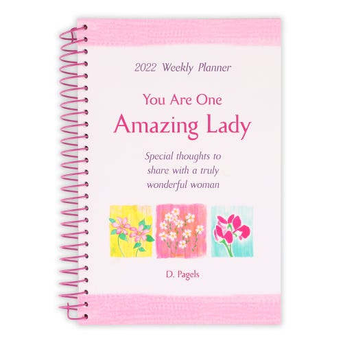 You Are One Amazing Lady Planner