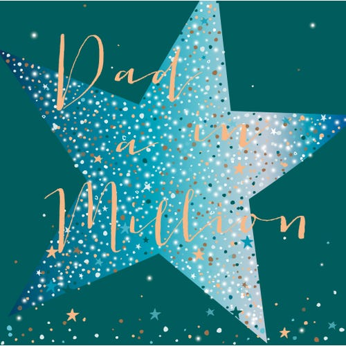 Father's Day Dad In A Million Card