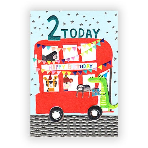 Animal Bus 2 today Card