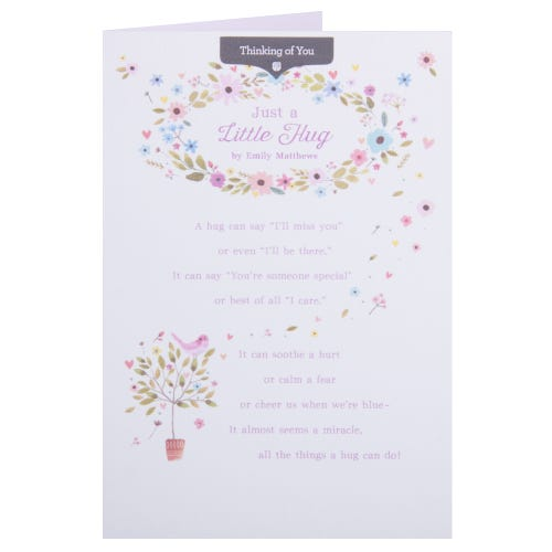 Little Hug Thinking of You Card