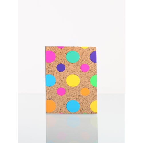Neon Spots Gift Tag
