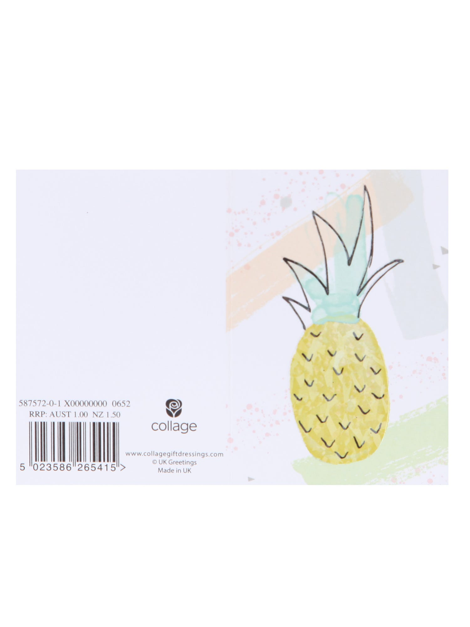 Pineapple Gift Tag <p><p>