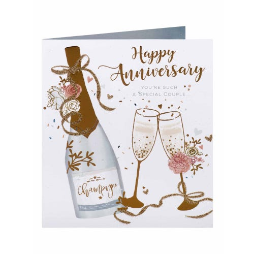 Special Couple Anniversary Card