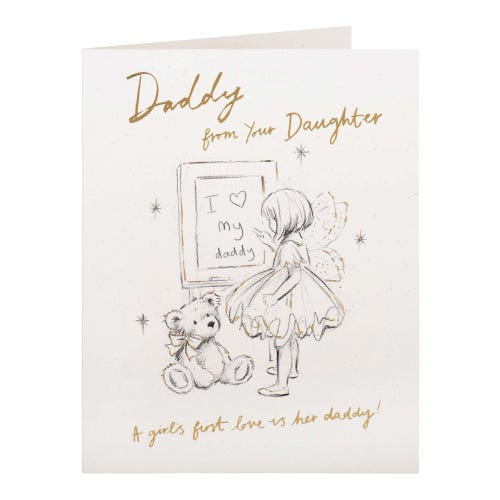 Love my Daddy from Daughter Birthday Card