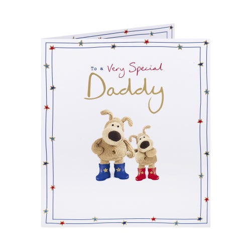 Loved Lots And Lots Daddy Birthday Card