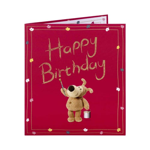 With Lots Of Love Birthday Card