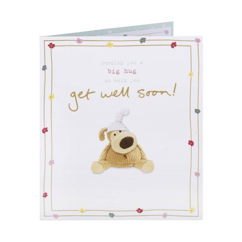 Big Hug Get Well Soon Card