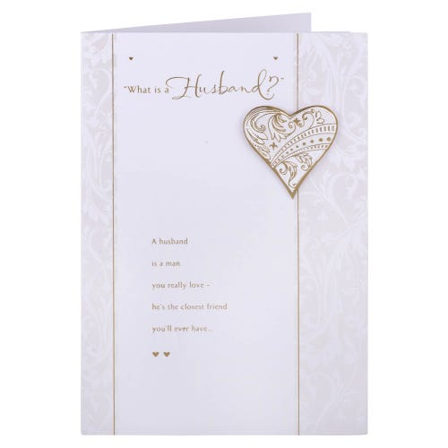 What is a Husband Birthday Card