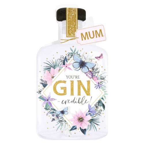 Gin-credible Mother's Day Card