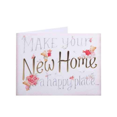 Clintons Exclusive Happy Place New Home Card