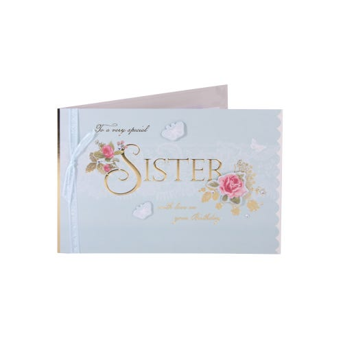Something Special sister - Birthday Card