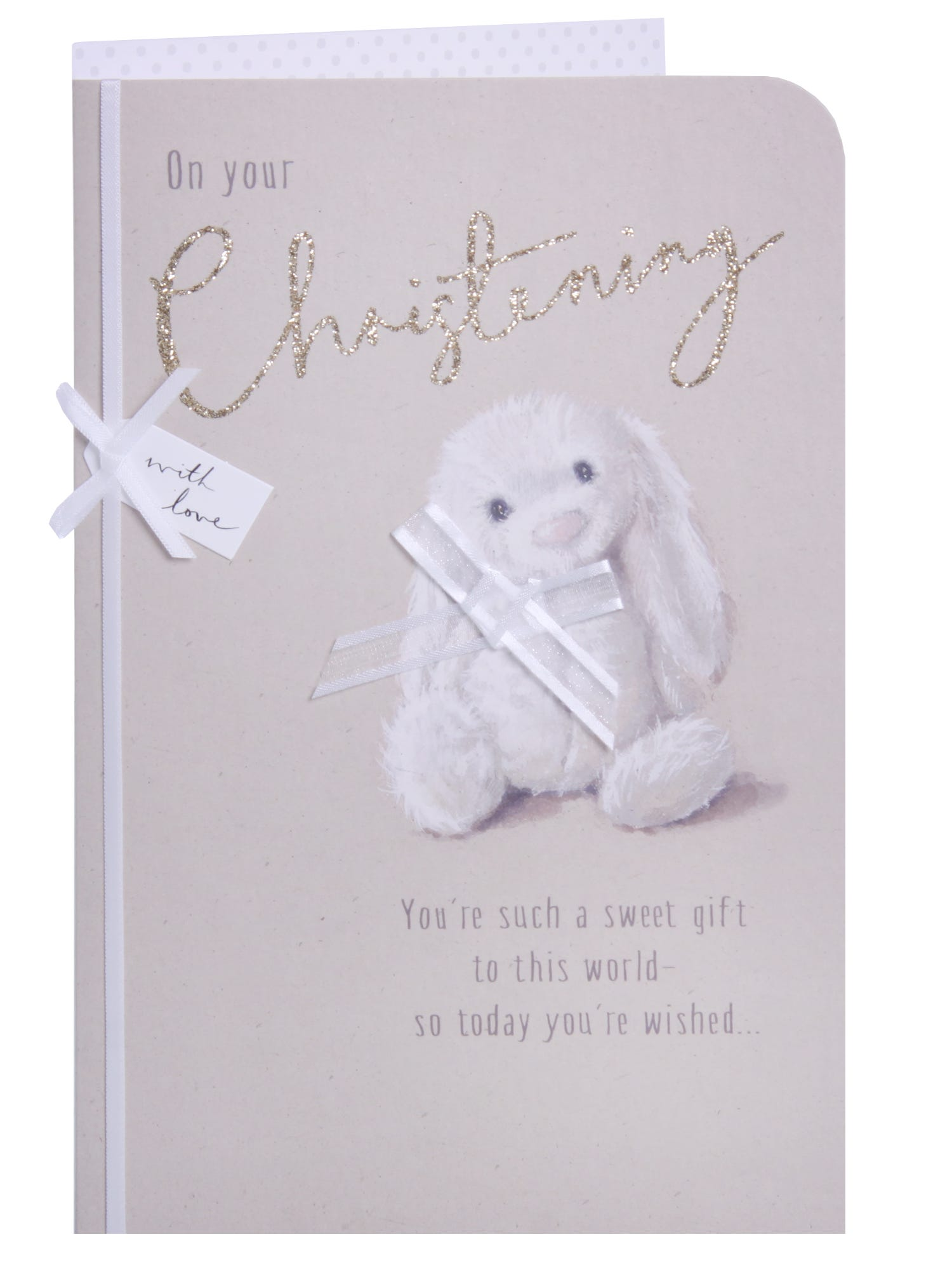 Special Granddaughter Christening Day Card Clintons