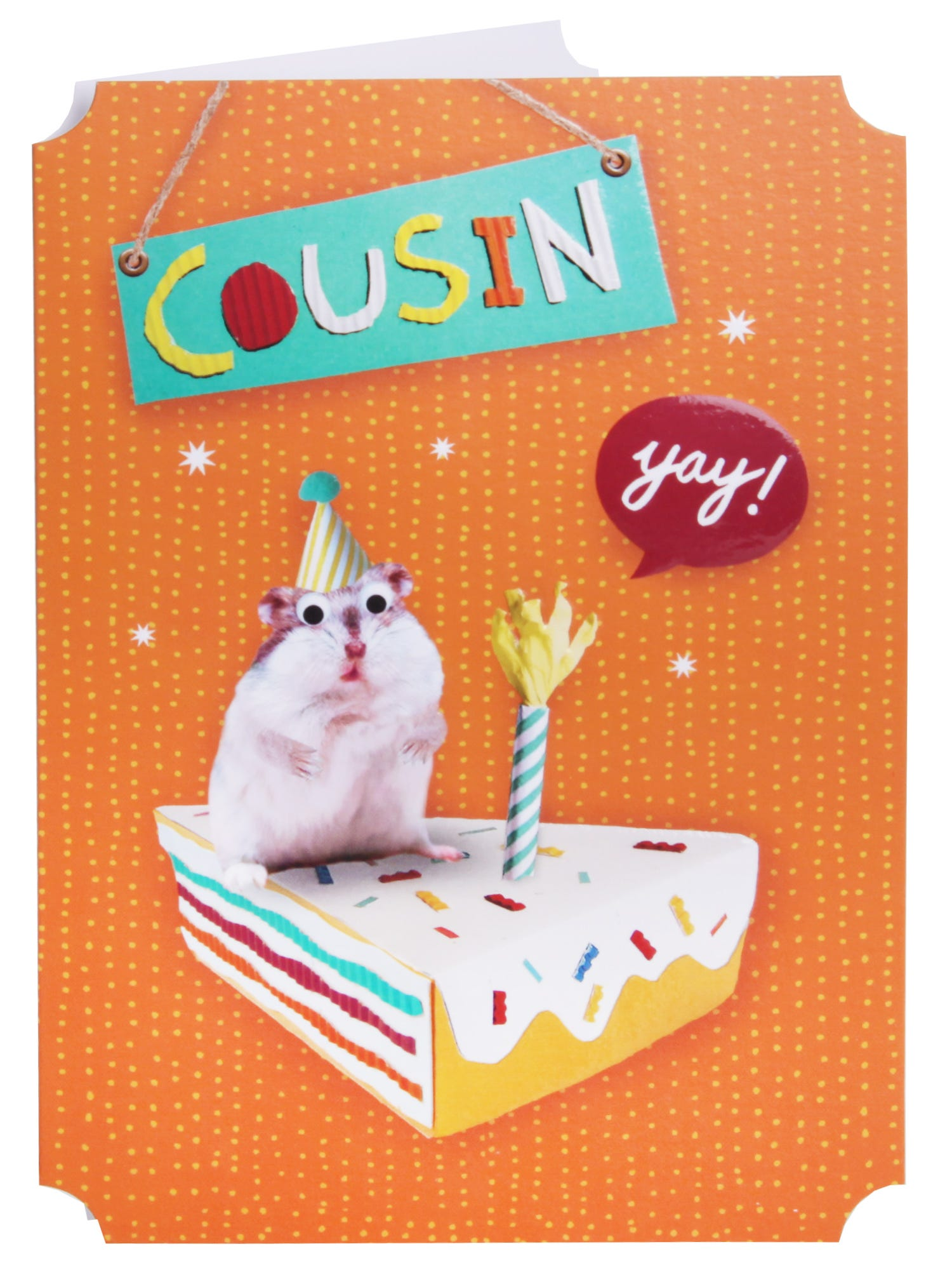 Clintons Collection Cousin Birthday Card