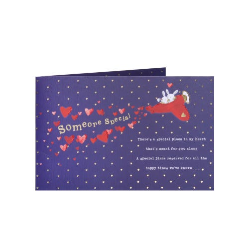 Someone Special Love Is In The Air Birthday Card