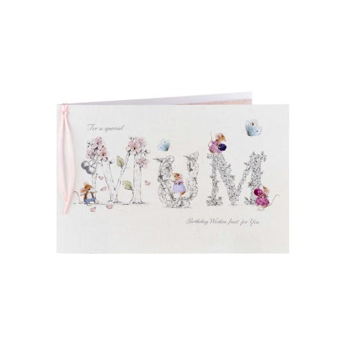 Bramble Mice Special Mum Birthday Card