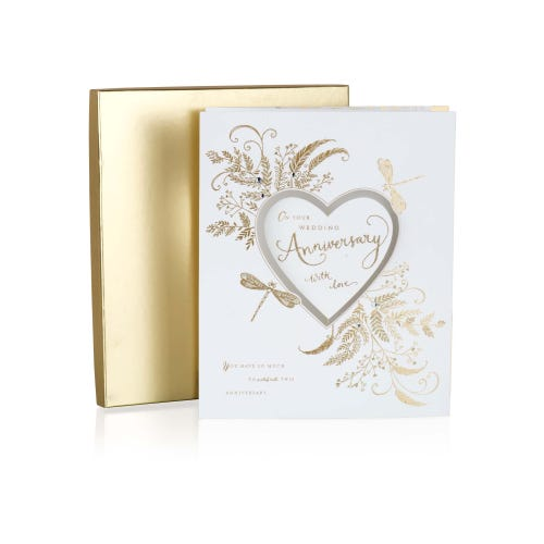 Luxury Boxed Collection Anniversary Card