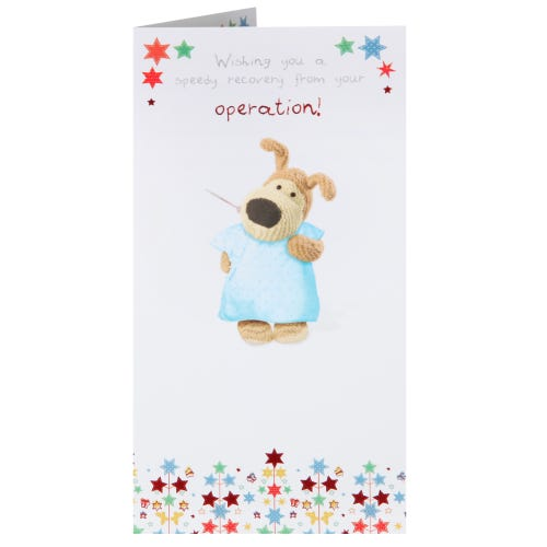Boofle Speedy Recovery Card