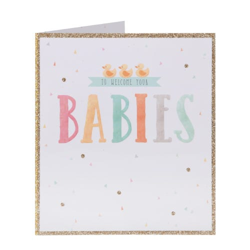 Welcome Your Babies Card