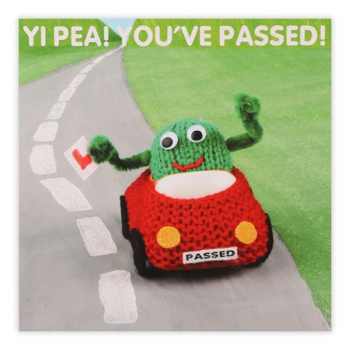 Yip Pea Driving Test Pass Card Card
