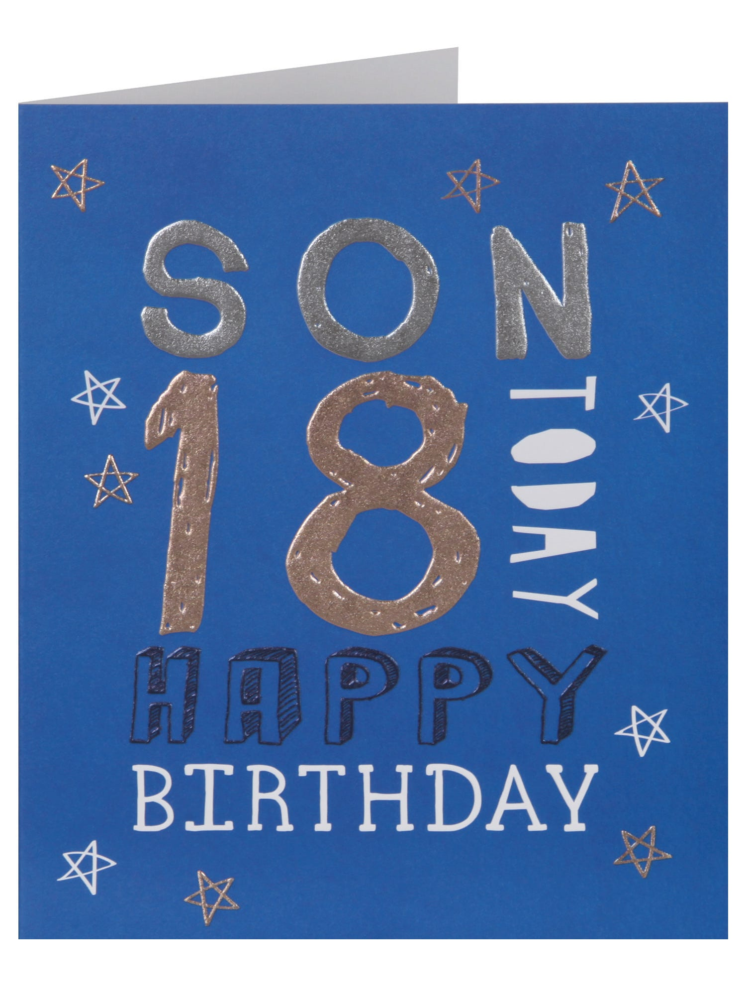 Very Special Son 18th Birthday Card