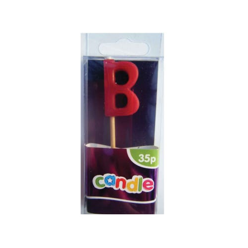 Initial Candle - Letter B