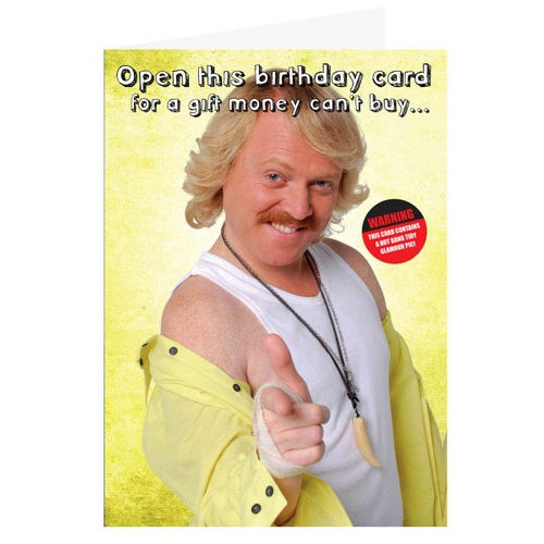 Keith Lemon Birthday Sound Card