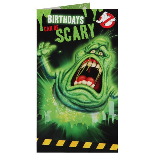 Ghost Busters Birthday Card