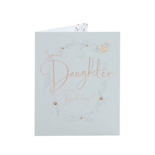 Elegant Special Daughter Clintons Collection Birthday Card