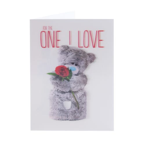 Holographic Birthday Card For The One You Love