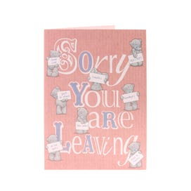 Me to You Best Sorry You're Leaving Card