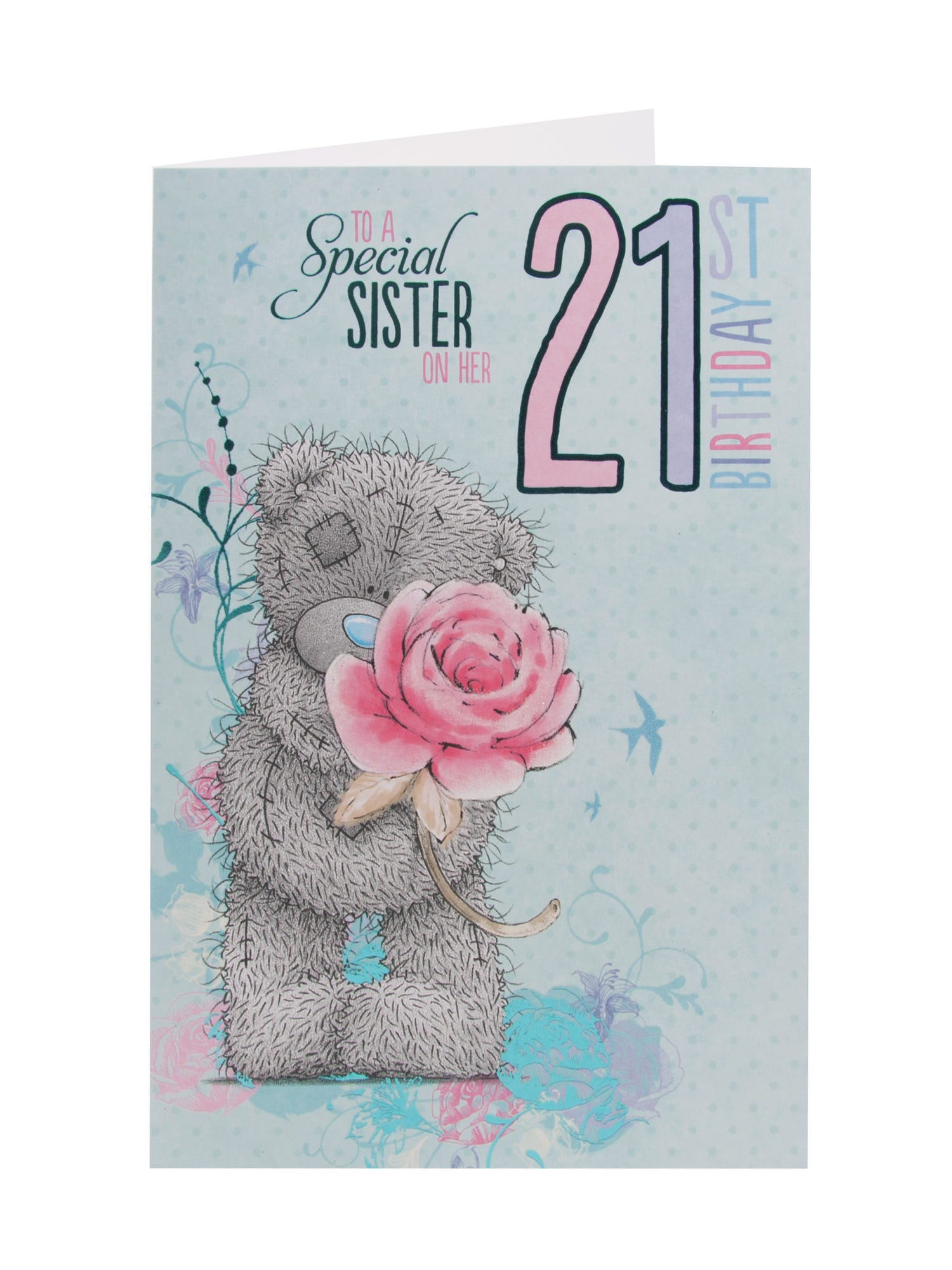 Daughter 21st Me To You Birthday Card