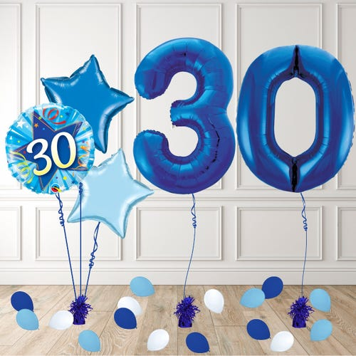 Blue Age 30 Birthday Package