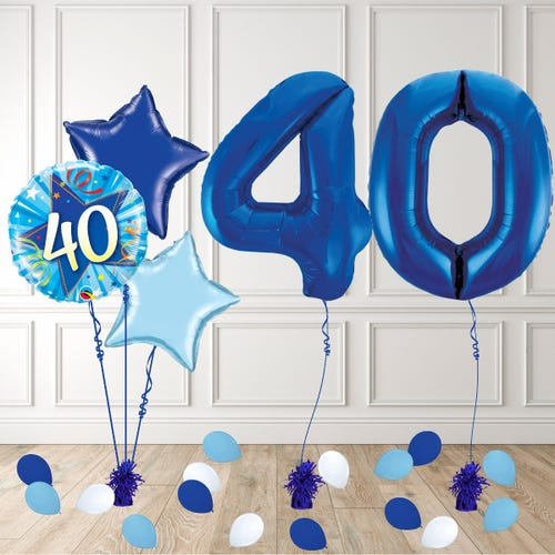 Blue Age 40 Birthday Package