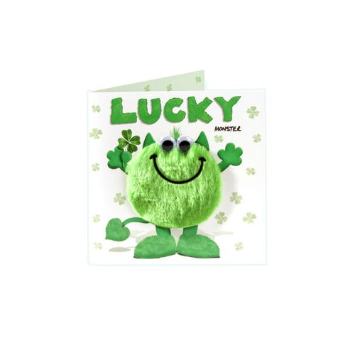 My Monster Good Luck Card