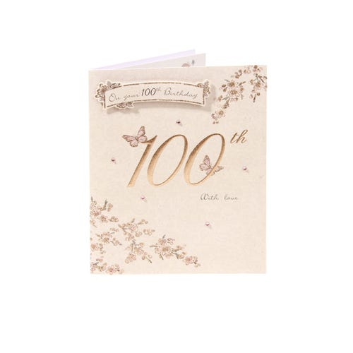 Collection 100th Birthday Card