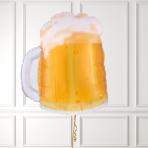 Father's Day Beer Mug See-Thru Shape