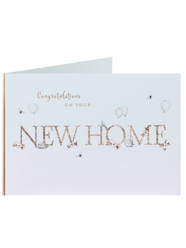 Clintons Collection New Home Card