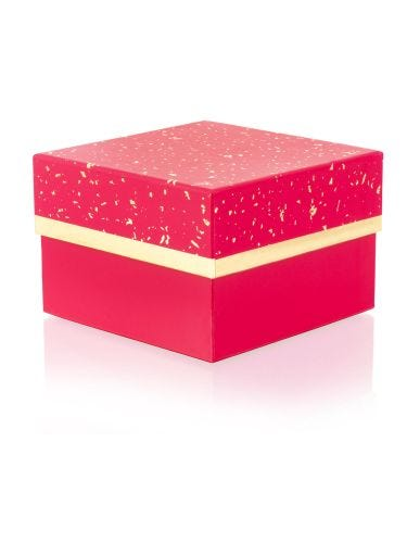 Pink With Gold Small Gift Box