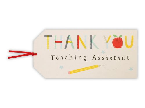 Thank You Teaching Assistant Gift Tag