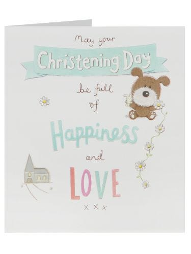 Christening Day Happiness & Love Card