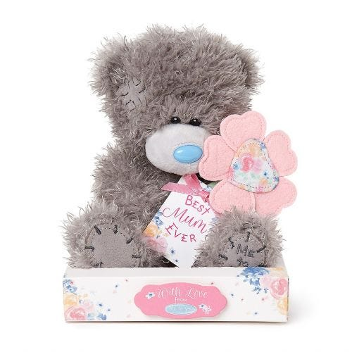 Me to You Best Mum Bear With Flower