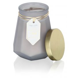 Sandalwood & Musk Scented Prism Candle
