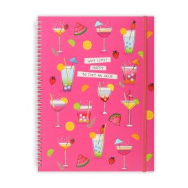 Cocktails A4 Notepad