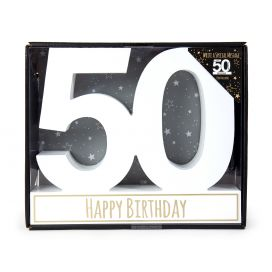 50 Sign Plaque With Pen