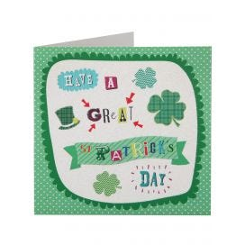 Great St Patrick's Day Card