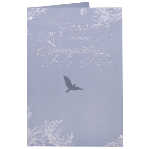 Deepest Sympathy Card - Loss of your Dad