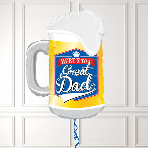 Father's Day Great Dad Beer Shape