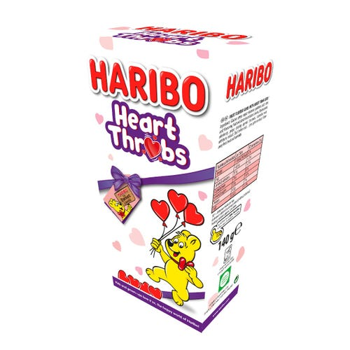 Haribo Heart Throbs Box 140g