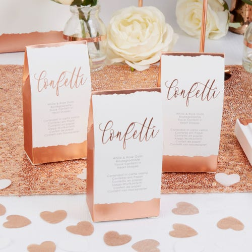 Dipped in Rose Gold - Tissue Confetti - 20 Pack